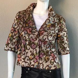 Vintage Embroidered Design Jacket